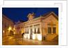 Night street scene of Travira by Corbis