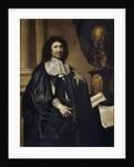 Portrait of Jean Baptiste Colbert by Claude Lefebvre