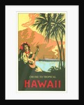 Cruise to Tropical Hawaii, Woman Playing Guitar by Corbis