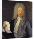 Portrait of John Law by Casimir Balthasar