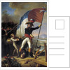 The General Augereau leading the charge at the Bridge of Arcole-by Charles Thevenin by Corbis