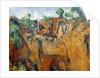 Bibemus Quarry by Paul Cezanne