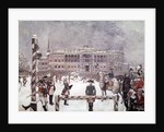 Military Parade in front of Mikhailovsky Palace, St. Petersburg by Corbis