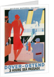 Belgian National Railway Poster, Channel Crossing by Corbis