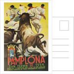 Running of the Bulls, Pamplona, Spain by Corbis