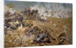 Line of fire at the battle of Rezonville by Pierre Georges Jeanniot