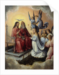 The Coronation of the Virgin by Michael Sittow
