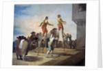 The Stilts by Francisco de Goya
