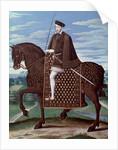 Equestrian portrait of King Henry II by Corbis