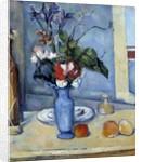 The Blue Vase, by Paul Cezanne