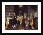 King Louis XIV Receiving His Brother by Philippe de Champaigne