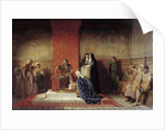 St. Elizabeth of France washing the feet of the Poor by Desire Francois Laugee