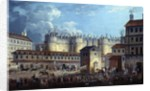 Demolition of the Bastille on 17 July 1789 by Pierre Antoine Demachy