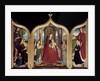 Triptych of the Sedano family by Gerard David