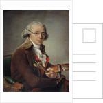 Portrait of the painter Francois-Andre Vincent by Adelaide Labille-Guiard