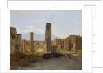 The Forum at Pompeii by Christian Kobke
