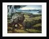 Landscape with Saint Jerome by Joachim Patinir