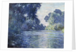 Arm of the Seine near Giverny - by Claude Monet