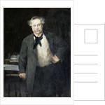 Portrait of Alexandre Dumas, fils by Alfred Roll