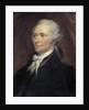 Portrait of Alexander Hamilton by George Healy