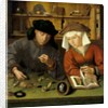 The Moneylender and His Wife by Quentin Massys