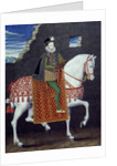 Equestrian portrait of Henry III, King of France by Corbis