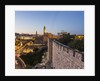 Old Town, the Tower of David (or Citadel of Jerusalem) and the walls by Corbis
