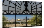 View of the Old Town with the Dome of the Rock from the Catholic Franciscan church of Dominus Flevit by Corbis