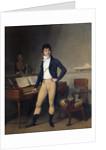 Portrait of Francois Adrien Boieldieu by Louis Leopold Boilly