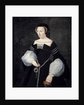 Portrait of Diane de Poitiers in mourning dress by Corbis