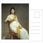 Portrait of Madame Raymond Verninac by Jacques Louis David