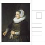 Female Portrait by Rembrandt van Rijn