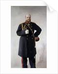 Portrait of Alexander III by Valentin Serov