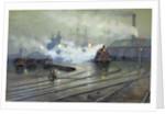 Cardiff Docks by Lionel Walden