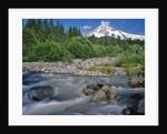 Upper Sandy River & Mt. Hood by Corbis
