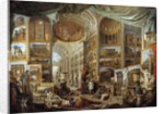 Gallery of Ancient Rome's views - by Giovanni Paolo Pannini