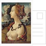 Portrait of a woman named Simonetta Vespucci - by Piero di Cosimo