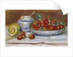 The strawberries - by Pierre Auguste Renoir