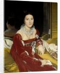 Portrait of Madame de Senonnes by Jean Auguste Dominique Ingres