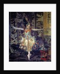 Portrait of the ballerina Tamara Karsavina by Jacques Emile Blanche