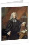 Portrait of Nicolas Rene Berryer by Jacques-Francois Delyen