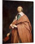 Armand Jean du Plessis, Cardinal de Richelieu by Corbis