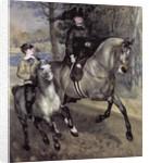 Horsewoman in the Bois de Boulogne by Pierre Auguste Renoir
