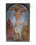 Holy Trinity with St. Jerome by Andrea del Castagno
