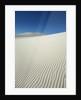 Dune structures in gypsum desert by Corbis