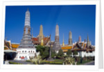View of Wat Phra Kaeo, Grand Palace, Bangkok, Thailand by Corbis