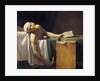 Jean-Paul Marat murdered in his bath by Jerome Martin Langlois