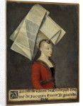 Portrait of Macee Leodepard, wife of the French trader Jacques Coeur by Corbis