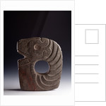 Stone ax representing a stylized snake by Corbis