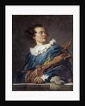 Figure of Fantasy: Portrait of the Abbot Richard de Saint-Non by Jean-Honore Fragonard